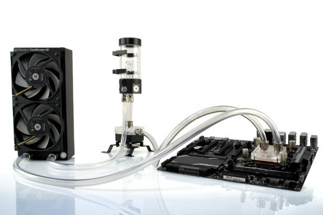 Ekwb Ek-Kit X240 Complete Dual 120mm Water Cooling Kit