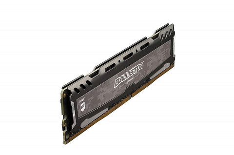 Image of Ballistix Sport LT 16GB Kit (8GBx2) DDR4 2400 MTs (PC4-19200) SR x8 DIMM 288-Pin - BLS2K8G4D240FSBK