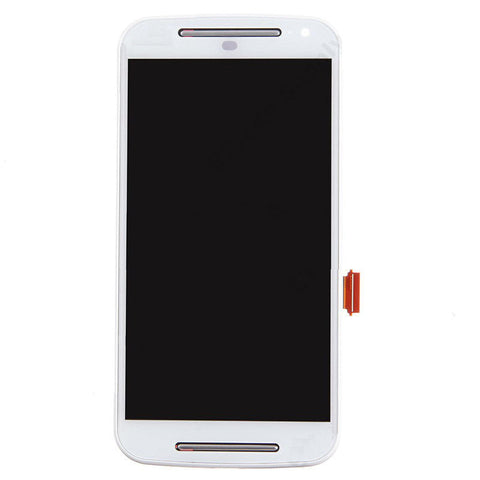 Image of LCD Front Assembly for Motorola G(3rd Gen)/XT1540/XT1541 - White