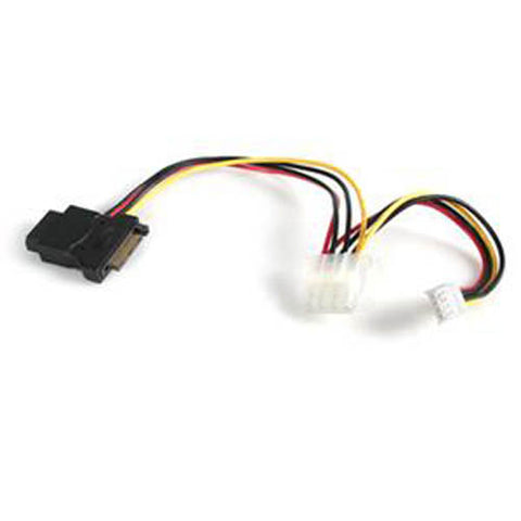 Startech LP4SATAFMD 4-Pin Molex to SATA & Floppy Power Adapter