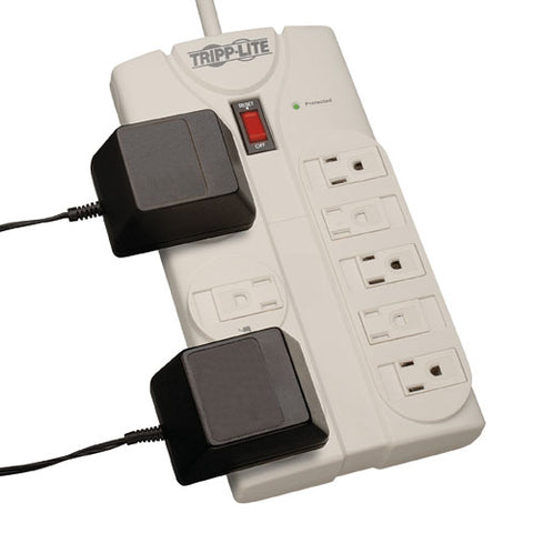 Image of Tripp Lite TLP808 8 Outlet 1900J Surge Protector