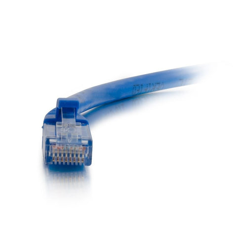 C2G 00392 2 Foot Cat5e Snagless Unshielded (UTP) Network Patch Cable - Blue