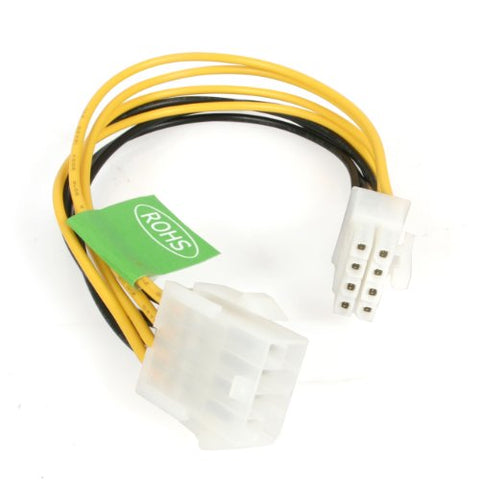 "Image of StarTech Model EPS8EXT 8"" EPS 8 Pin Power Extension Cable"