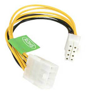 "StarTech Model EPS8EXT 8"" EPS 8 Pin Power Extension Cable"