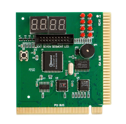 Image of Kingwin CMBA-4 PCI & ISA PC Computer Motherboard Analyzer