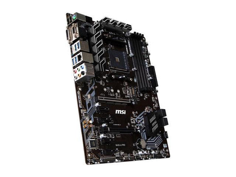 Image of MSI B450-A PRO AM4 AMD B450 SATA 6Gb/s USB 3.1 HDMI ATX AMD Motherboard