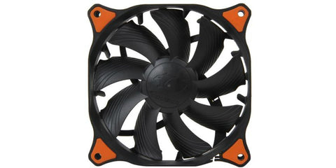 Image of COUGAR CF-V12HPB Vortex Hydro-Dynamic-Bearing (Fluid) 300,000 Hours 12CM Silent Cooling Fan with Pulse Width Modulation (Black)