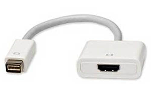 "Syba 6"" Male Mini-DVI to HDMI Female Adapter Cable"