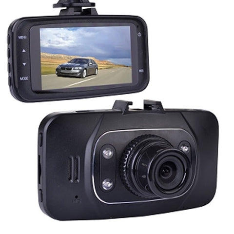 "Automotive 1080p HD Dashcam with Night Vision, 2.7"" LCD, & Dashcam"