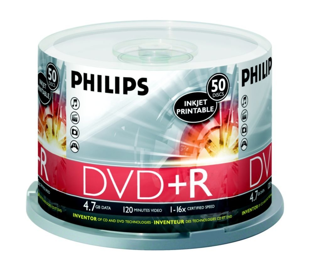 Philips MED-DR4I6B50F-17-BP 16x 4.7GB DVD+R 50 piece