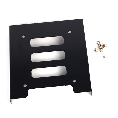 "Image of 2.5"" SSD HDD Hard Drive to 3.5"" Steel Caddy Tray Mounting Bracket"