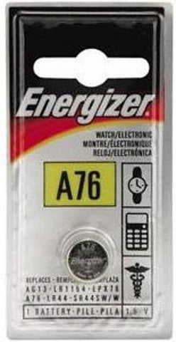 Energizer A76BP Type A76 1.5V LR48 Manganese Watch Battery