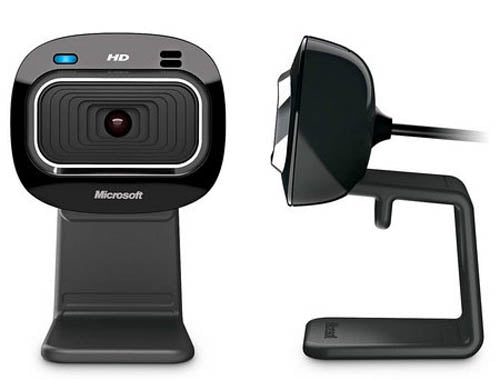 Microsoft LifeCam HD-3000 USB Widescreen Webcam