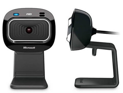 Image of Microsoft LifeCam HD-3000 USB Widescreen Webcam