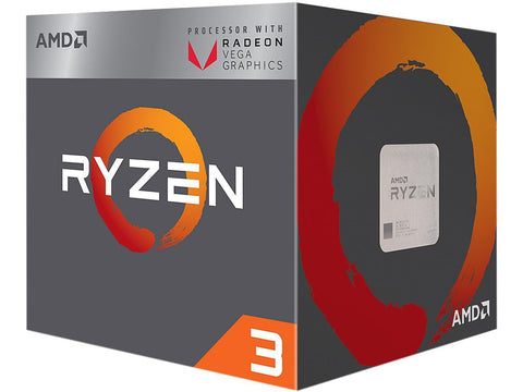 Image of AMD YD2200C5FBBOX Ryzen 3 2200G With Wraith Stealth Cooler