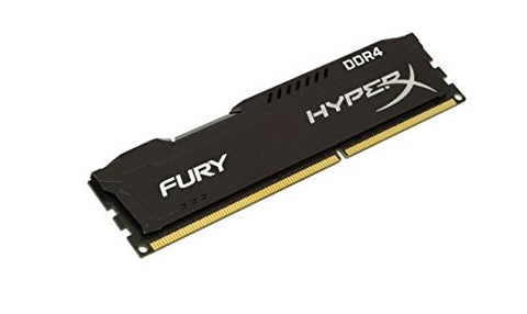 Image of Kingston HyperX Fury 8GB (1 x 8G) DDR4 2400 Desktop Memory DIMM (288-Pin) RAM HX424C15FB2/8