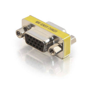 C2G HD15 VGA F/F Mini Gender Changer (Coupler)