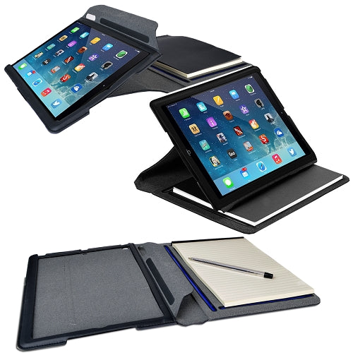 Targus THZ187US Notepad Faux Leather Folio For iPad Air (Black)