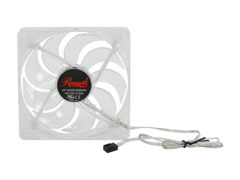 Image of Rosewill 120mm 4 Red LED Computer Case Cooling Fan