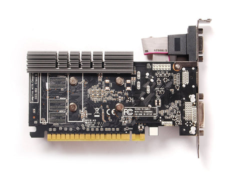 ZOTAC GeForce GT 730 DirectX 12 ZT-71115-20L 4GB 64-Bit DDR3 PCI Express 2.0 x16 Video Card