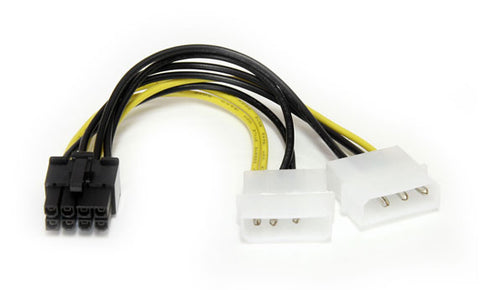 StarTech 2 x Molex to PCI Express Power Cable Adapter