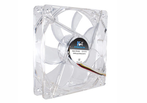 Image of Kingwin CFBL-08LB 80mm Blue LED High Performance Case Fan