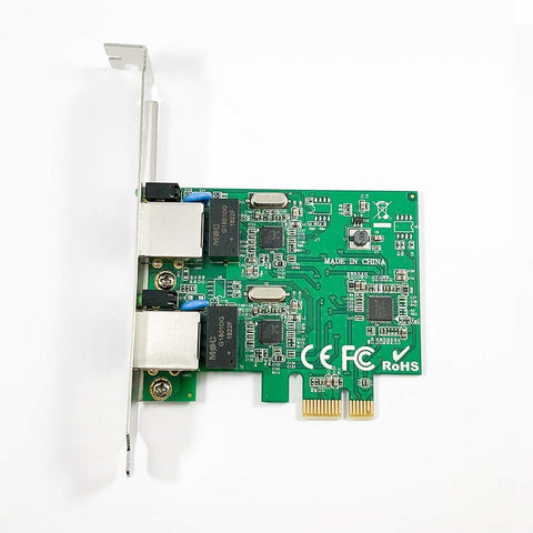 X-MEDIA XM-NA3820 Dual Port Gigabit 10/100/1000Mbps PCI Express Network Adapter