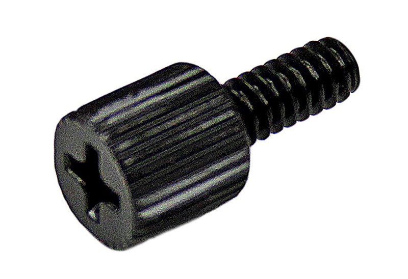 StarTech.com 6-32 5/16in Long Black Metal Computer Case Thumbscrew