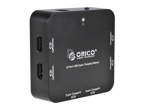 Orico DCP-6U 6-Port USB Hub Charger