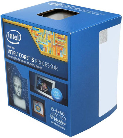 Image of Intel BX80646I54460 Core i5-4460 3.2GHz Quad Core LGA1150 Processor
