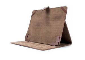 vitalASC TB-CASE-910-BRO Brown Leather Universal 9.7 Inch Tablet Case