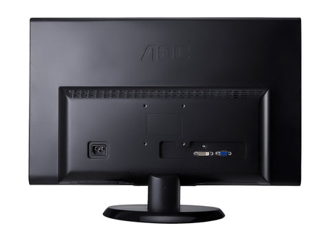 "AOC e2050Swd Black 20"" 5ms DVI Widescreen LED Backlight LCD Monitor"