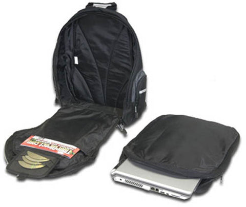 "Image of Targus TSB007US Sport Backpack for Laptops up to 15.4"" (Black/Grey)"
