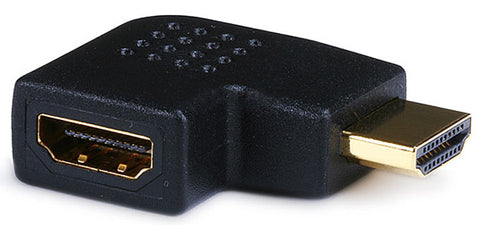 Right Angle HDMI Adapter Male to Female