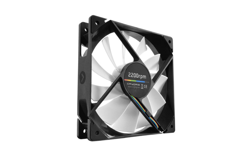 Cryorig QF120 performance 120mm 600-2200RPM PWM Case Fan