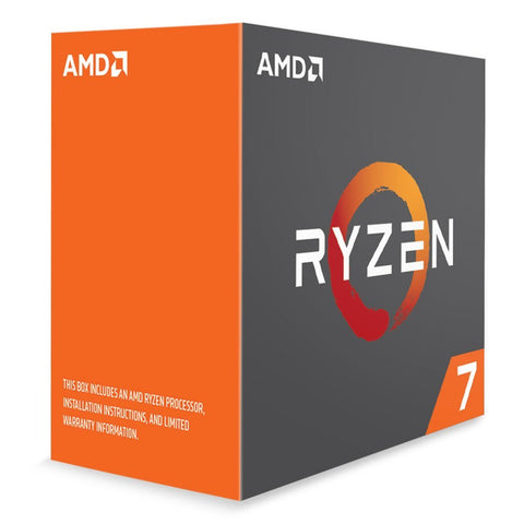 AMD RYZEN 7 1700X 8-Core 3.4 GHz (3.8 GHz Turbo) Socket AM4 95W YD170XBCAEWOF Desktop Processor