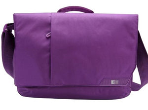 "Case Logic Purple iPad and 11"" Laptop Messenger MLM-111GOTHAM PURPLE"
