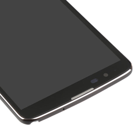 Image of Front LCD assembly with Frame for LG Stylo 2 Plus MS550 K550 - Black