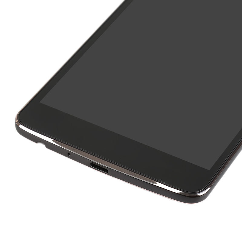 Front LCD assembly with Frame for LG Stylo 2 Plus MS550 K550 - Black