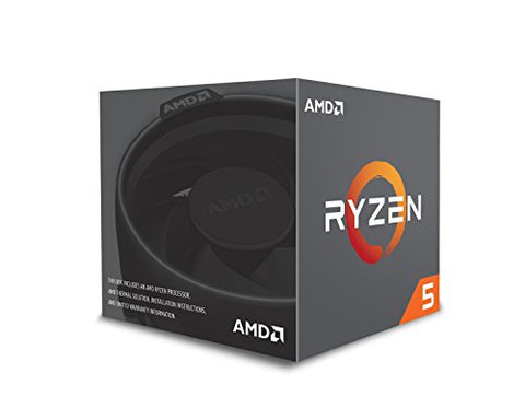 Image of AMD RYZEN 5 2600 6-Core 3.4 GHz (3.9 GHz Max Boost) Socket AM4 65W YD2600BBAFBOX Desktop Processor