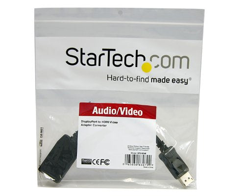 StarTech DP2HDMI 5in DisplayPort to HDMI Video Adapter