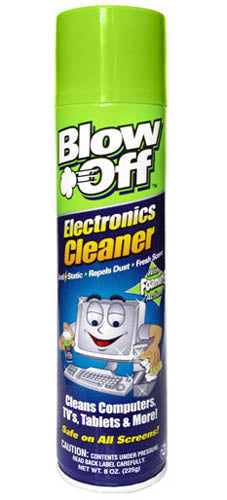 Max Professional EC-222-222 Blow Off 6oz. Electronics Cleaner
