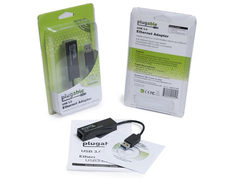 Plugable USB 3.0 to Ethernet Gigabit 10/100/1000Mbps LAN Network Adapter