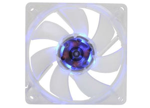 Silenx EFX-08-15B Effizio 80x25mm 15dBA 32CFM Blue LED Fan