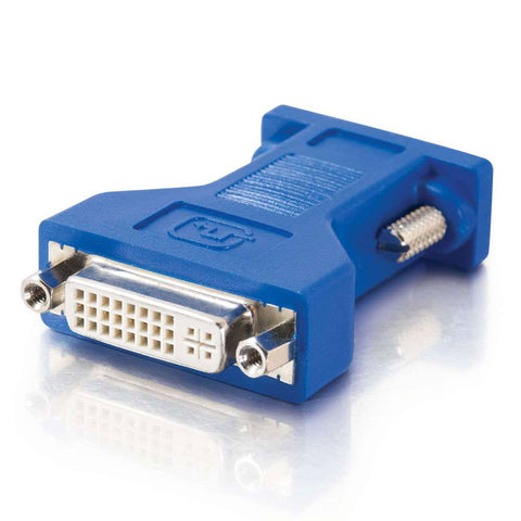 C2G 26957 Female DVI to Male VGA Adapter (Blue)