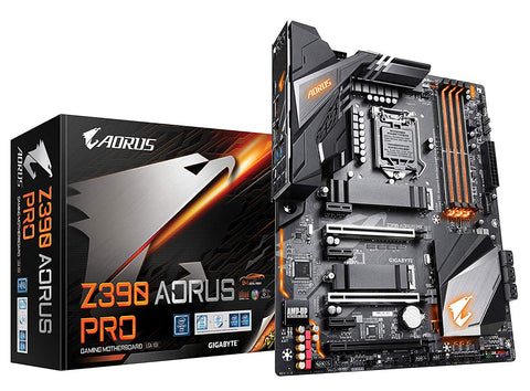 Image of GIGABYTE Z390 AORUS PRO LGA 1151 (300 Series) Intel Z390 HDMI SATA 6Gb/s USB 3.1 ATX Intel Motherboard