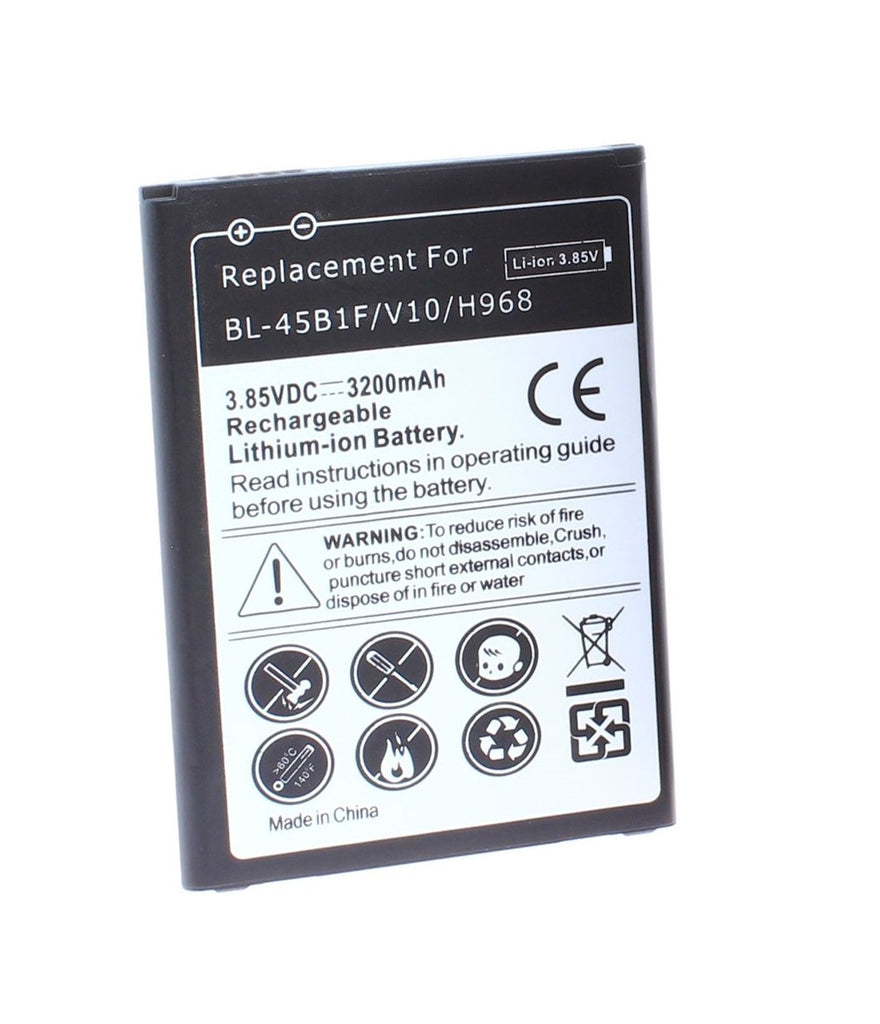 Replacement Battery For LG V10 Stylo 2 H900 H901 VS990 H961 F600 H968 LS775 K550 K557 MS550 BL-45B1F
