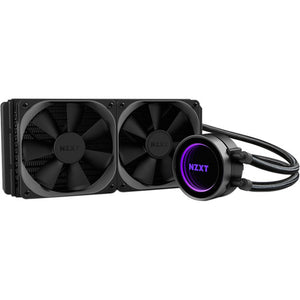 NZXT Kraken X52 RL-KRX52-02 240mm All-In-One Water / Liquid CPU Cooling with Software Controlled RGB
