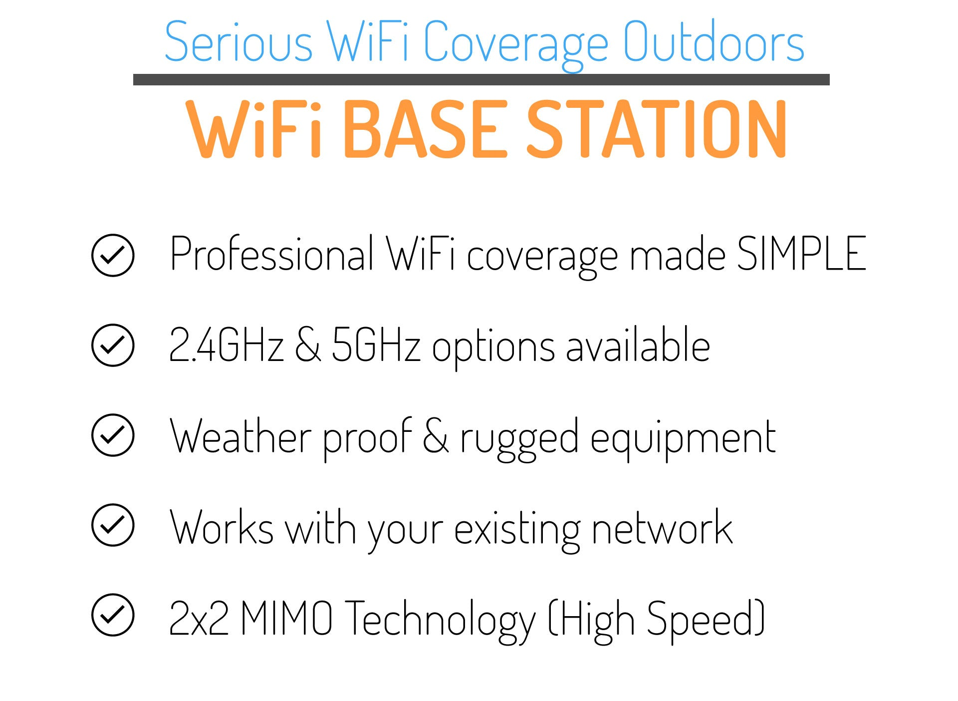 wifi base station features