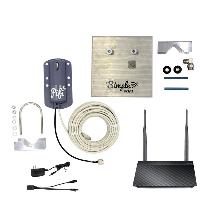 BACKUP PiFi Long Range WiFi Repeater & Range Extender